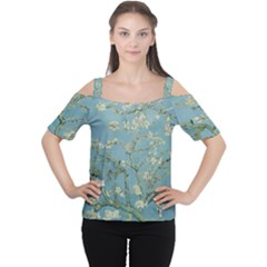 Van Gogh Almond Blossom Cutout Shoulder Tee