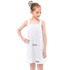 Fish Bone Blue Skeleton Kids  Overall Dress