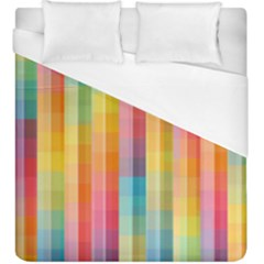 Pattern Background Colorful Abstract Duvet Cover (king Size)