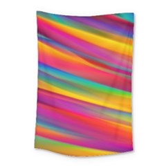 Colorful Background Small Tapestry