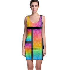 Background Colorful Abstract Bodycon Dress