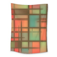 Background Abstract Colorful Medium Tapestry