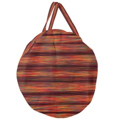 Colorful Abstract Background Strands Giant Round Zipper Tote