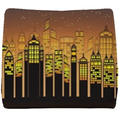 Buildings Skyscrapers City Seat Cushion