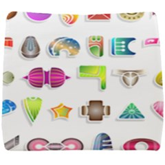 Shapes Abstract Set Pack Seat Cushion