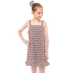 Background Abstract Colorful Kids  Overall Dress