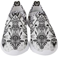 Ancient Parade Ancient Civilization Kids  Slip On Sneakers