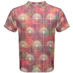 Colorful Background Abstrac Pattern Men s Cotton Tee