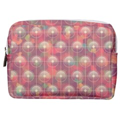 Colorful Background Abstrac Pattern Make Up Pouch (medium)