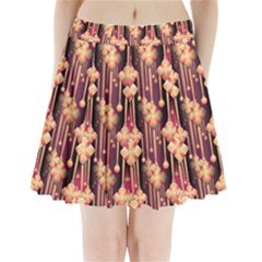Seamless Pattern Pattern Pleated Mini Skirt