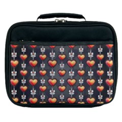 Love Heart Background Lunch Bag