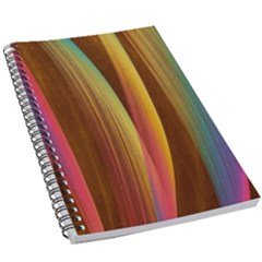 Abstract Background Colorful 5 5  X 8 5  Notebook New by Wegoenart