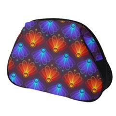 Light Background Colorful Abstract Full Print Accessory Pouch (small) by Wegoenart