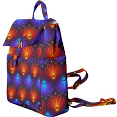Light Background Colorful Abstract Buckle Everyday Backpack by Wegoenart