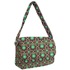 Pattern Background Bright Brown Courier Bag