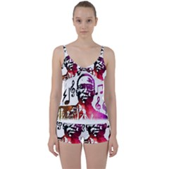 Tie Front Two Piece Tankini