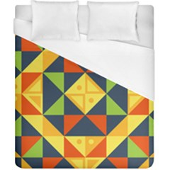 Background Geometric Color Duvet Cover (california King Size)