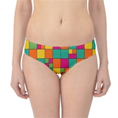 Abstract Background Abstract Hipster Bikini Bottoms