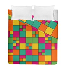 Abstract Background Abstract Duvet Cover Double Side (full/ Double Size) by Wegoenart