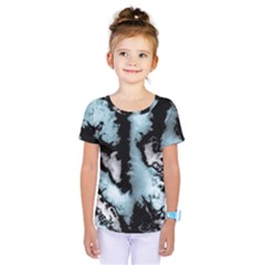 Winter Fractal 4 Kids  One Piece Tee