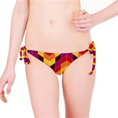 Geometric Pattern Triangle Bikini Bottom