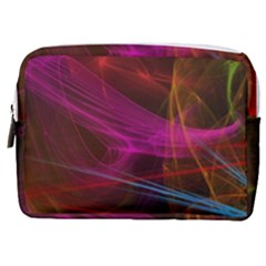 Background Abstract Colorful Light Make Up Pouch (medium)