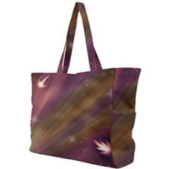 Space Orbs Stars Abstract Sky Simple Shoulder Bag