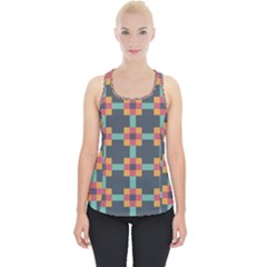 Art Vintage Background Abstract Piece Up Tank Top