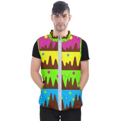 Illustration Abstract Graphic Men s Puffer Vest