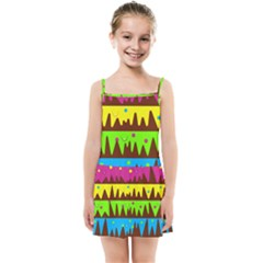 Illustration Abstract Graphic Kids  Summer Sun Dress by Wegoenart