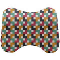 Background Abstract Geometric Head Support Cushion