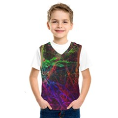 Background Abstract Cubes Square Kids  Sportswear
