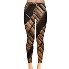 Books Bookshelf Classic Collection Inside Out Leggings