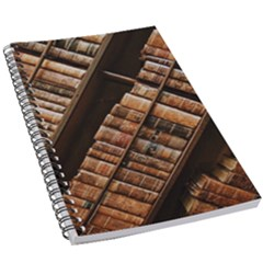 Books Bookshelf Classic Collection 5 5  X 8 5  Notebook by Wegoenart