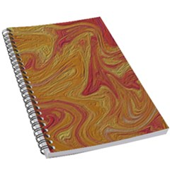 Texture Pattern Abstract Art 5 5  X 8 5  Notebook by Wegoenart
