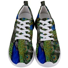 Peacock Close Up Plumage Bird Head Men s Lightweight Sports Shoes