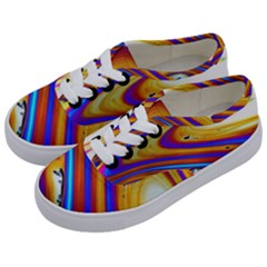 Soap Bubble Color Colorful Kids  Classic Low Top Sneakers by Wegoenart