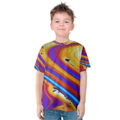 Abstract Architecture Background Kids  Cotton Tee