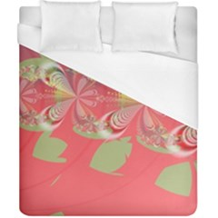 Fractal Gradient Colorful Infinity Duvet Cover (california King Size)