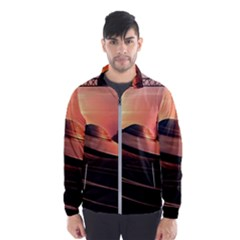 Fractal Mandelbulb 3d Ufo Invasion Windbreaker (men)