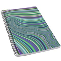 Art Fractal Gradient Colorful Infinity Pattern 5 5  X 8 5  Notebook by Wegoenart