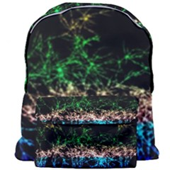 Wallpaper Fractal Lines Abstract Giant Full Print Backpack