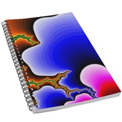 Fractal Background Pattern Color 5 5  X 8 5  Notebook by Wegoenart