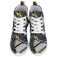 Fractals Fractal Art 3d Women s Lightweight High Top Sneakers