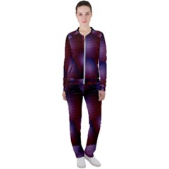 Fractal Rendering Casual Jacket And Pants Set