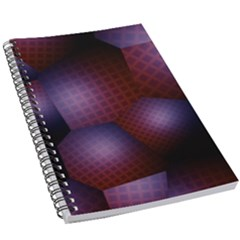 Fractal Rendering 5 5  X 8 5  Notebook by Wegoenart