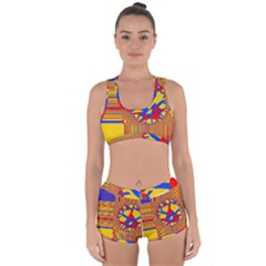 Graphic Design Graphic Design Racerback Boyleg Bikini Set