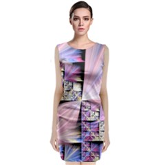 Fractal Art Artwork Digital Art Classic Sleeveless Midi Dress
