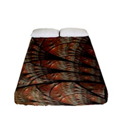 Fractals Artistic Digital Design Fitted Sheet (full/ Double Size)
