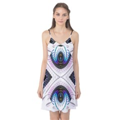 Patterns Fractal Background Digital Camis Nightgown